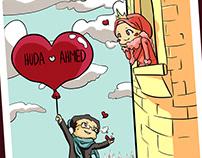 Engagement Illustrations