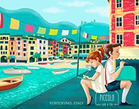 Vintage Kids in Italian Cities