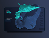 JBL Online Store Redesign | E-commerce website concept