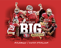 49ers Playoff Campaign Concepts