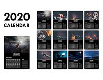 2020 Calendar Project-3