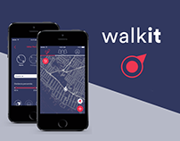 Walkit UX Design