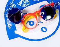 Sunglasses package for children