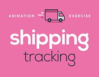 Animation Exercise - Shipping Tracking Icons