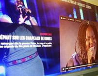 Timeline des finalistes Nouvelle Star (D8.tv)