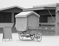 Food Stall - Free 3D Model