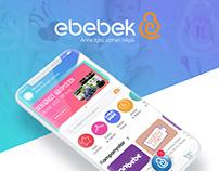 Ebebek iOS App Design