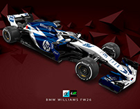 Re-Imagined: BMW Williams FW26 livery