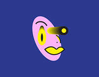 Woman With Yellow Fisheyes