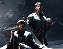 Dishonored2 Emily and Corvo