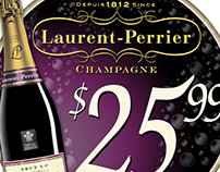 Laurent-Perrier Signage