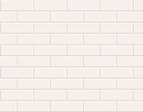 Seamless White Brick Pattern