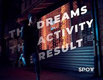E-commerce mobile app for Spott