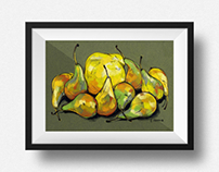 Quince and pears