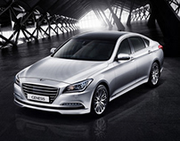 Hyundai Genesis Middle East Launch Campaign   PRINT ADS