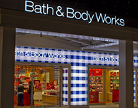 Bath & Body Works Storefront: LED/Print Pattern