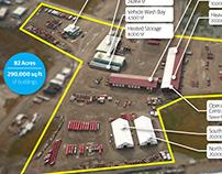 CH2M Base Operations Map, Deadhorse, AK