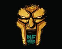 """Принт для интернет-магазина """"Индивид"""". MF Doom."""