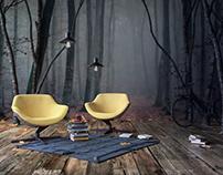 CG Project //Autumn Interior