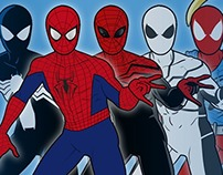 Spider-Man – Costumes Through the Years
