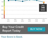 SavvyMoney Credit Score Redesign Concept