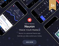 Neuron app – Advanced Record Tracking (UI/UX)