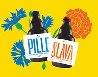 Pille + Slava pilsner