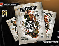 Country Artist Flyer