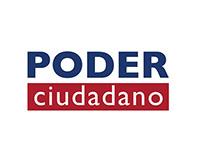 """Identidad Gráfica """"Poder Ciudadano"""""""