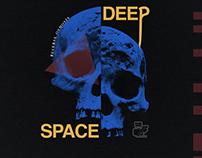 "Reverse Ososis ""Deep Space"" album cover."