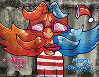 Santa - Graffiti