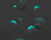 Hillflare  · Branding