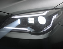 Headlight Design - ZKW V81