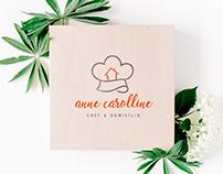 Cliente: Anne Carolline Eventos Identidade Visual