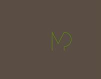 monogramma e business card