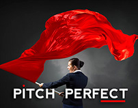 Pitch Perfect, a Leading Edge of Design PowerPoint