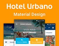Hotel Urbano - Material Design