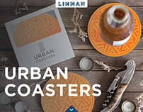 Urban Coasters - Brand Identity & Packaging