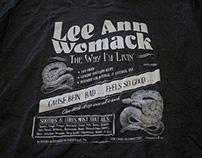 Lee Ann Womack 2015 Tour Shirt