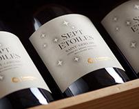 Sept Etoiles Wine Label