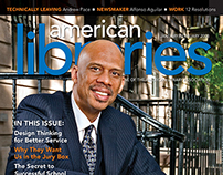 American Libraries magazine covers