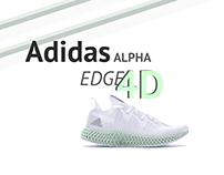 Adidas Alpha Edge 4D | Design