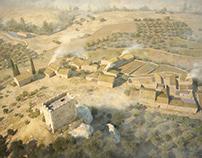 Les Besses medieval village S.XVI-XVII