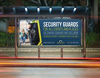 Security Guards Billboard Template