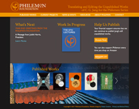 Philemon Foundation Website Design