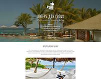 Острова Бали. Landing Page