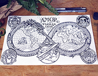 Dragon World map