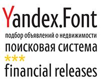 Фирменный шрифт Яндекса, 2013