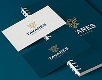 Identidade Visual Tavares Advocacia. Visual Identity
