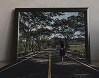 3D effect outside the frame
